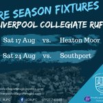 Image for the Tweet beginning: ** Pre Season Fixtures ** A