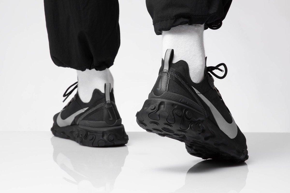 Nike React Element 55 SE Sneakers BlackAnthracite