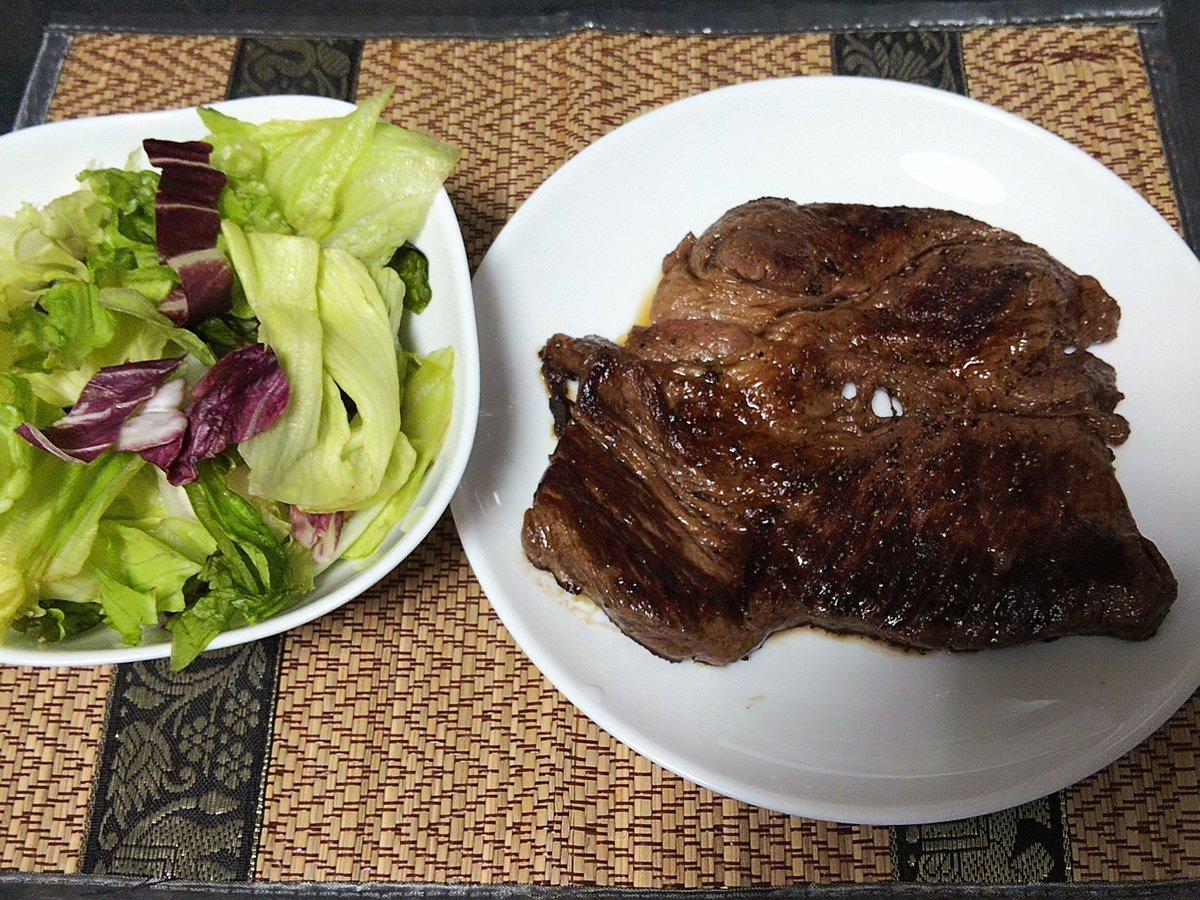 暑いので3割引のお肉、焼いたった( ̄▽ ̄;) #食する一条蜜希 #食するあみあみな #ミートエンジェルズ https://t.co/KNZZdt5bUl