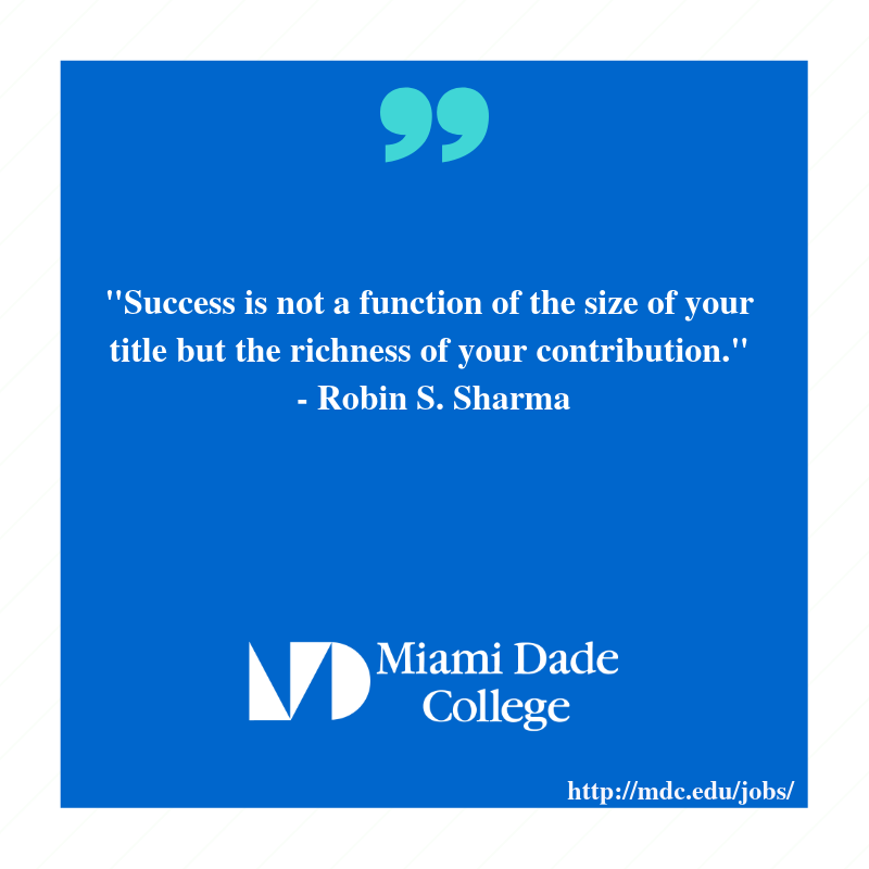 Miami Dade College Jobs (@MDCjobs) | Twitter