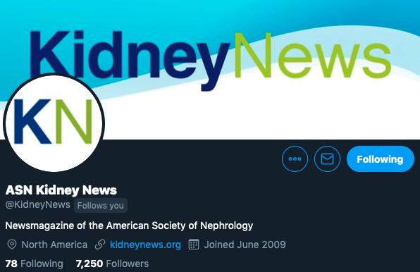 Am Soc Nephrology (@ASNKidney) | Twitter