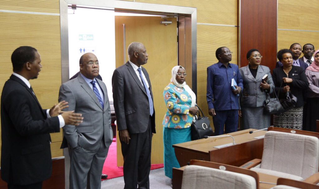 A visit from Chief Secretary, Amb.Eng.John Kijazi at JNICC earlier today supervising on going preparations for the 39th SADC Summit which is scheduled to start on 9th-18th August 2019