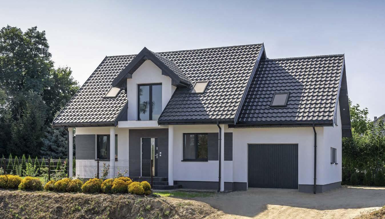 картинки домов серая крыша москва классно получилась