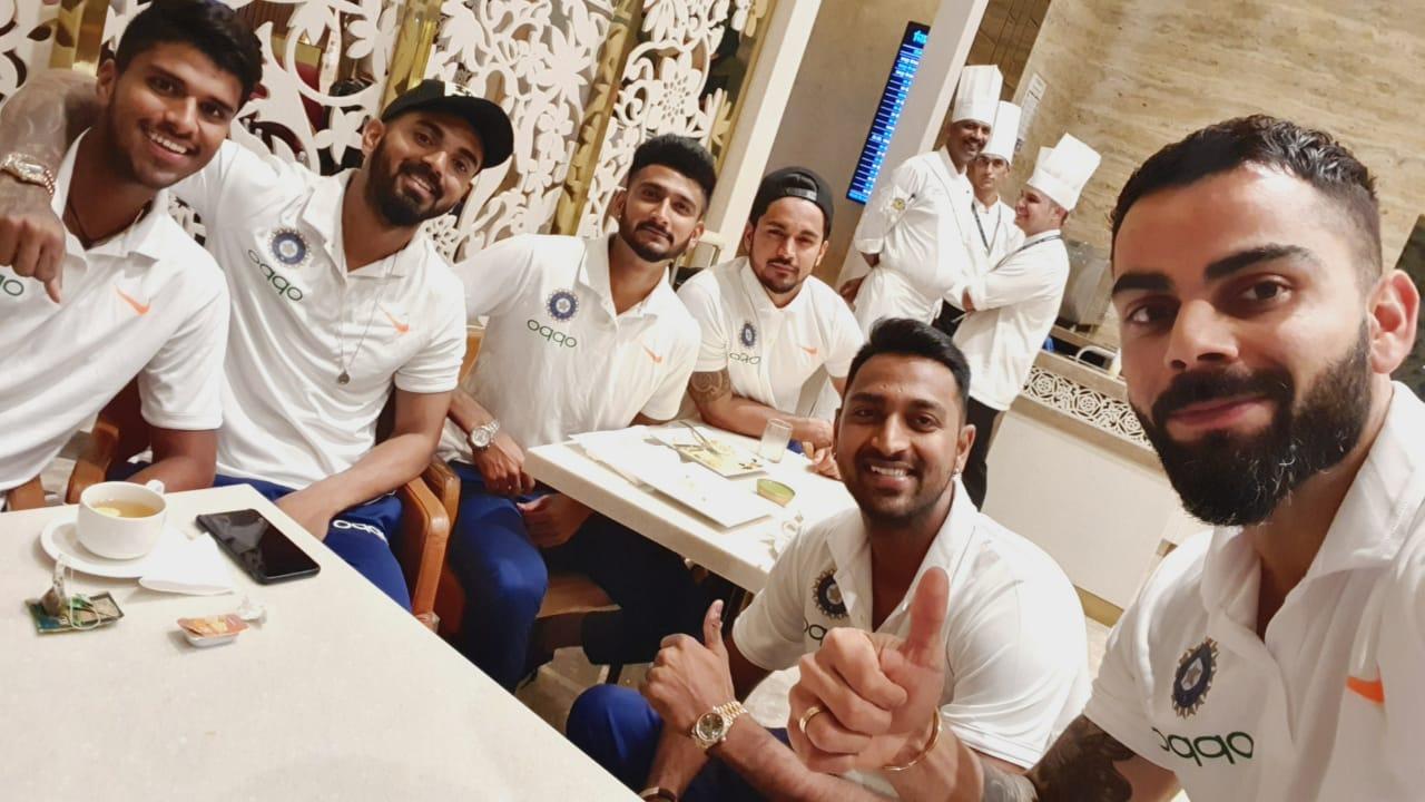 Virat Kohli took to Instagram before departing for West Indies | Image Source