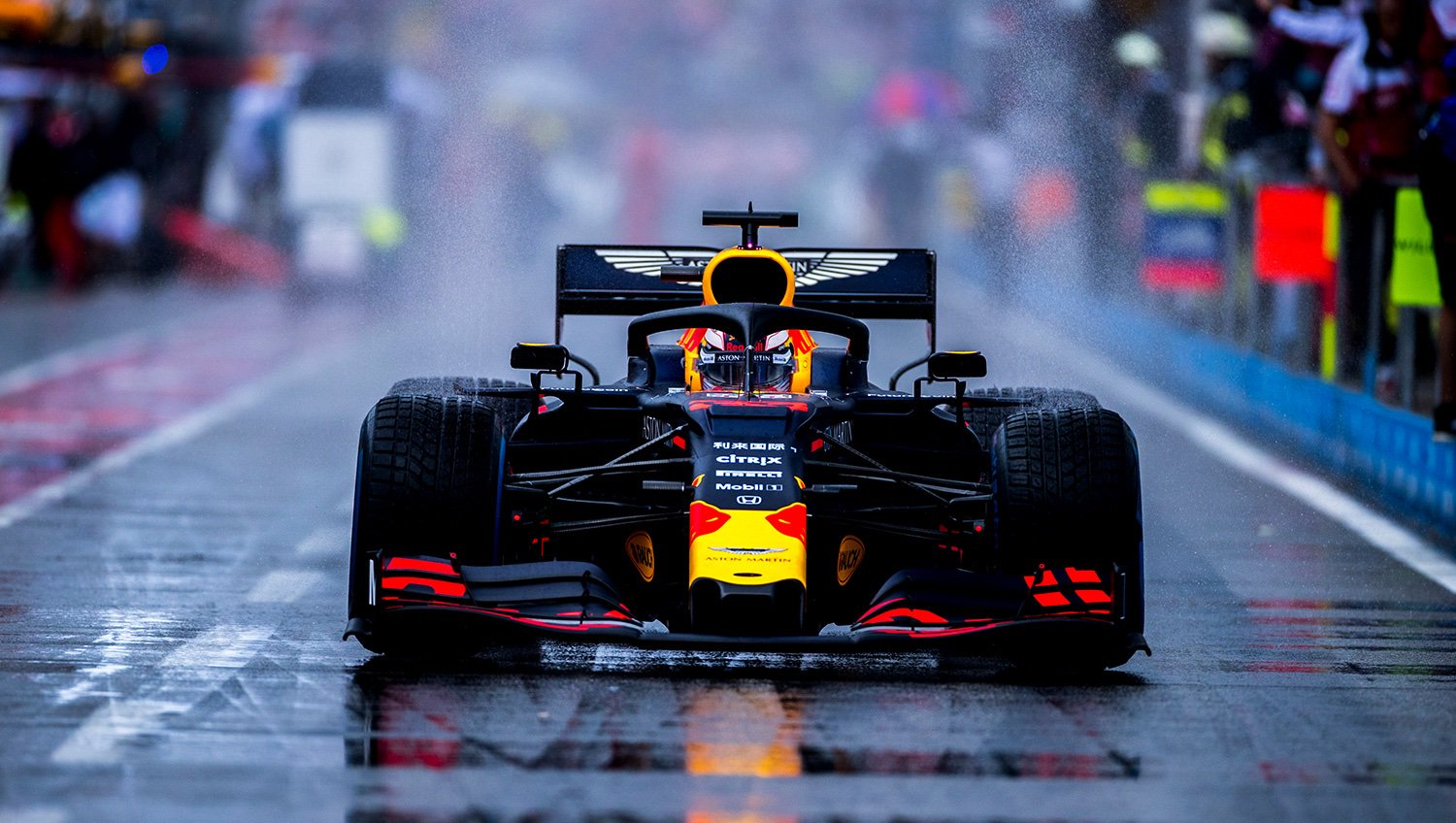 Aston Martin Red Bull Racing On Twitter Riding The Hockenheimring Storm Max S Germangp Display Sees Him Pick Up Driver Of The Day F1