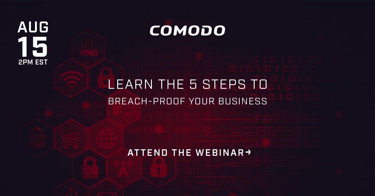 Comodo Cybersecurity (@comododesktop) | Twitter