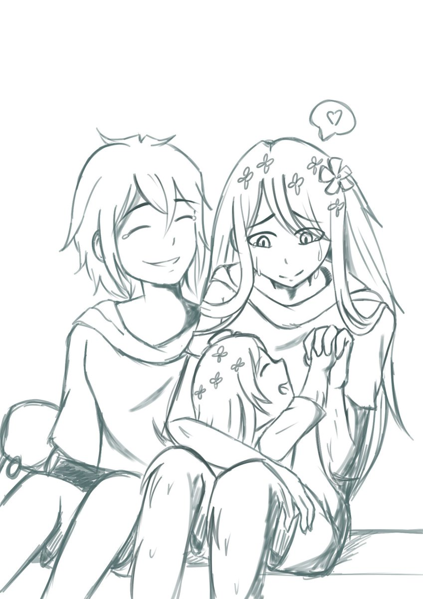 The Joy of Creation  (Or, how I ignore all laws of Biology for the sake of a human-plant hybrid child to give happiness to them, especially to the deserving plant human-)  #AdventureTime #FinntheHuman #FerntheHuman #FinnFern #Finncest #fanchild