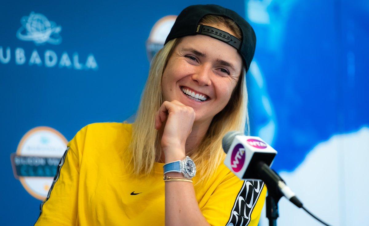 """Элина Свитолина: """"Моя цель с самого начала этого года - совершенствовать свою игру"""""""