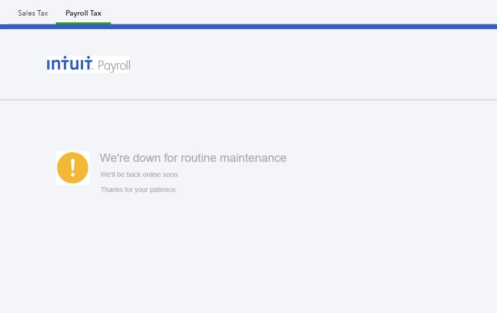 Quickbooks Online Down? Service Status, Map, Problems History