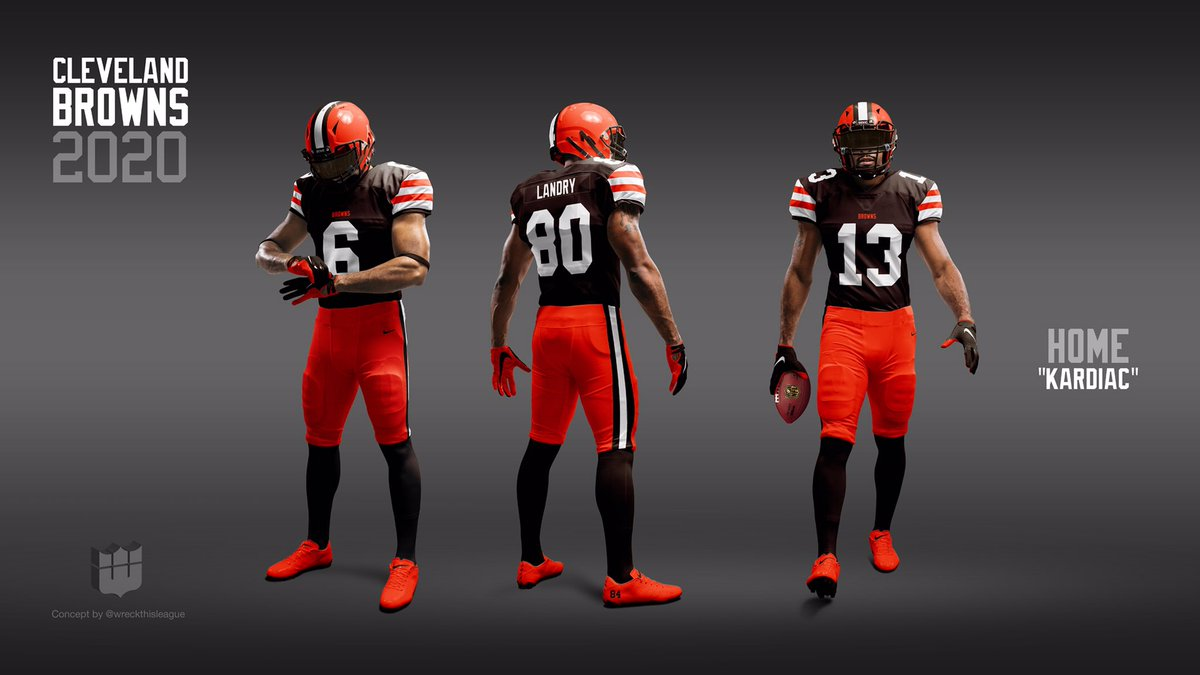 Browns Color Rush 2020.Wreck This League On Twitter With The Browns Announcement
