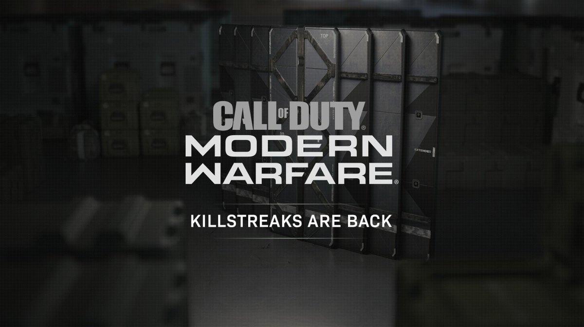 Call of Duty: Modern Warfare reboot will bring back killstreaks, including white phosphorous
