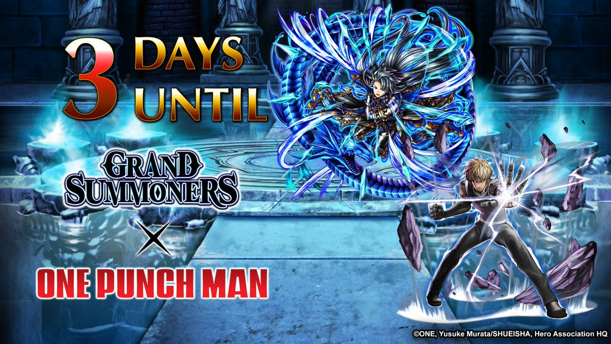 Grand Summoners 🔜 ONE-PUNCH MAN 👊 - @GRDSMN_GLOBAL Twitter Profile