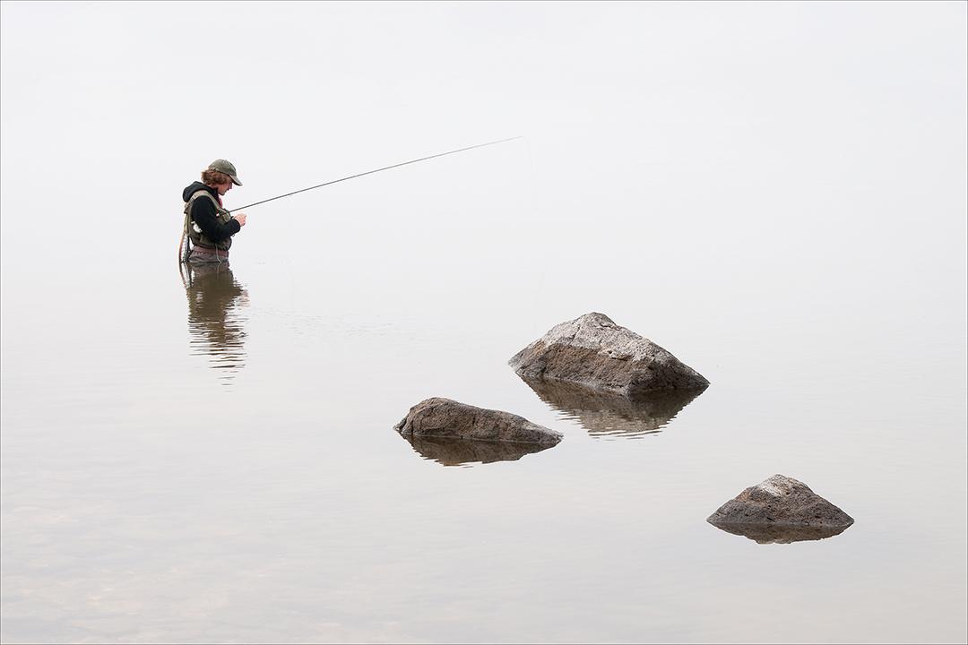 Rethinking the game plan on Montana's Hebgen Lake. Photo: John Juracek