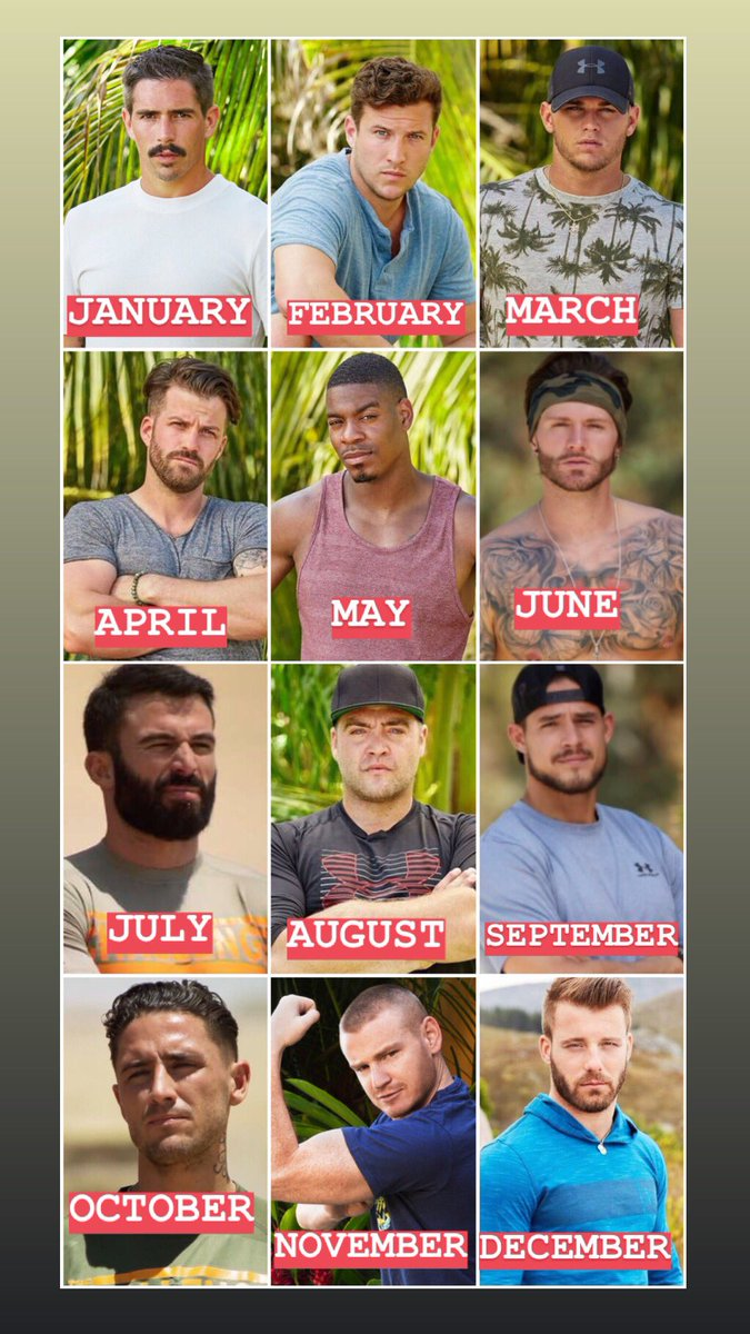 You're on the next season of The Challenge! Your birth month decides who you get partnered with!   Girls get paired with Male Vets and guys get paired with Female Vets.   Let me know if you're making the final or if you're going to be an early boot!! 😬💪🏼
