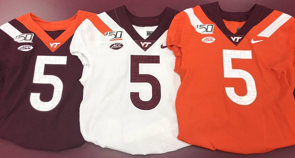 new arrival f36e8 c7fb5 Virginia Tech Uniform Tracker (@VTHokies) | Twitter