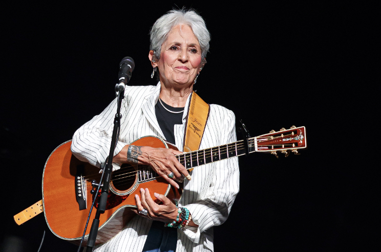 Watch Joan Baez play her final live show in Madrid, Spain rol.st/2SM9aBe