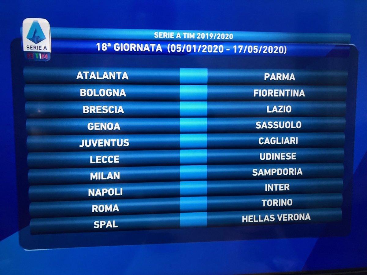 Calendario 2020 Inter.Napoliinter Traola Twitterren
