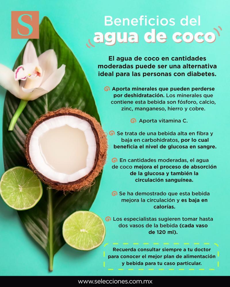 cuales son los beneficios de la agua de coco