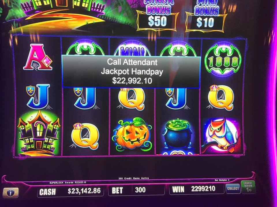 Lets congratulate Jeff for winning $22,992.10 on Station's exclusive SuperLock Jackpot!