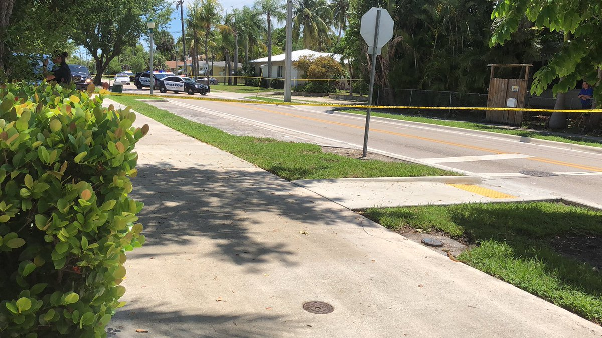 1:50 pm. Officer involved shooting along the 5400 block of North Flagler Dr. One officer was stabbed by the suspect.  Both transported to a nearby hospital. North Flagler Drive is closed from 51st - 55th Street.  Media can stage along 55th Street & Flagler.  PIO is on scene.