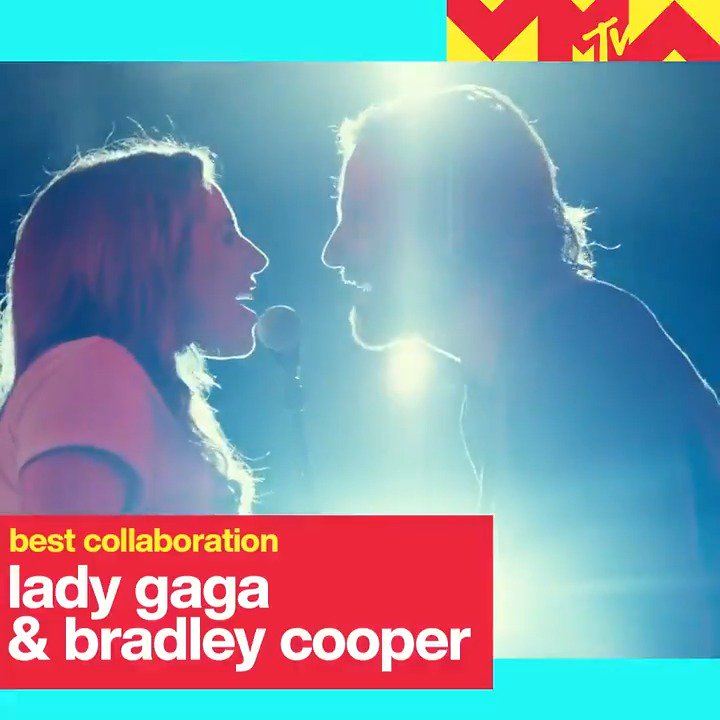 Congrats to @ladygaga and Bradley Cooper on their MTV #VMAs nominations for Song of Year and Best Collaboration! #AStarIsBorn @vmas
