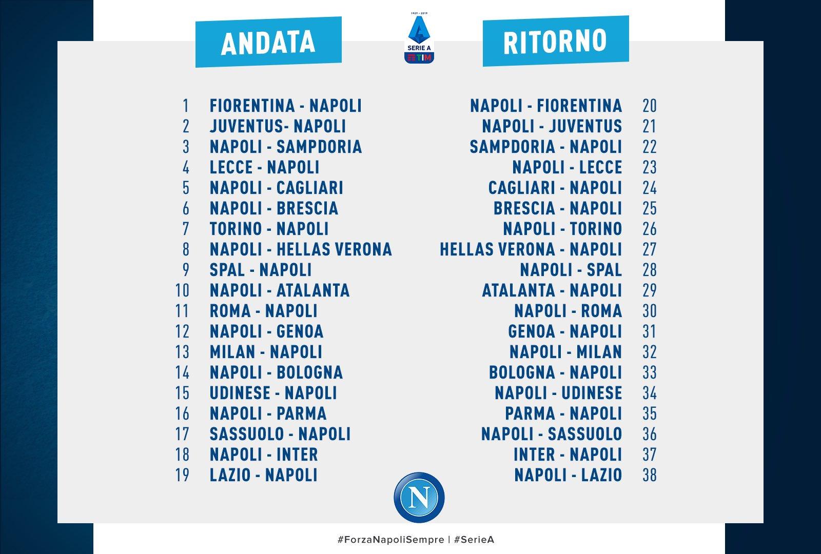 Calendario Verona.Hellas Verona Calendario