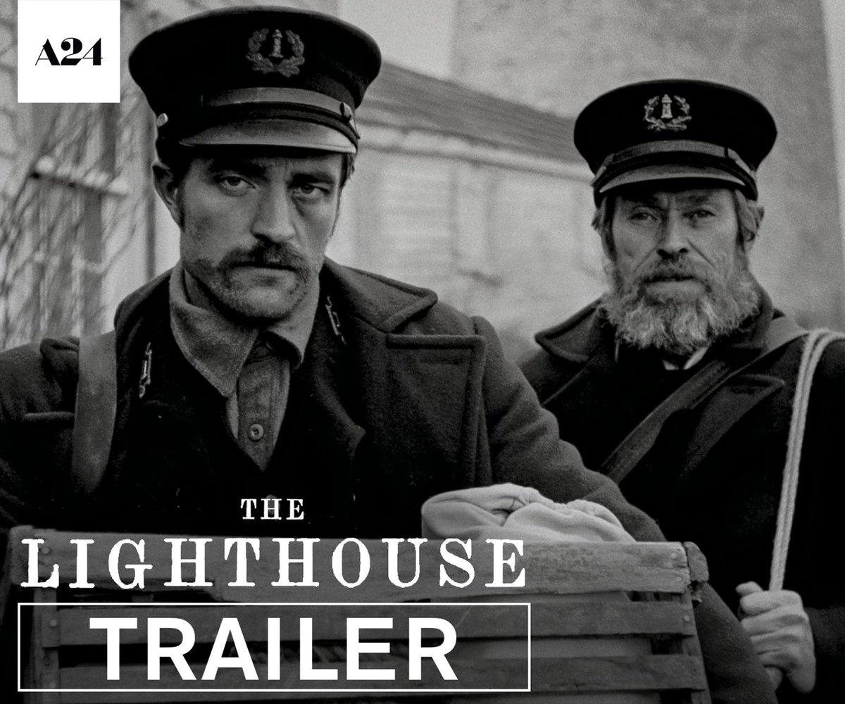 『ウィッチ』ロバート・エガース監督×ロバート・パティンソン&ウィレム・デフォー主演『The Lighthouse』の予告編が公開!ニューイングランドの謎めいた島で錯乱していく二人の灯台守を描いた作品は、35㎜フィルム撮影。10月18日米国公開 #HIHOnews