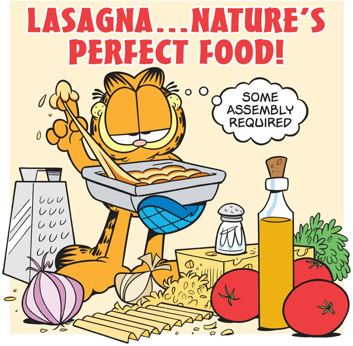 J A Garfield Nhs On Twitter Today July 29 Is Nationallasagnaday If Only We Could Think Of Some Connection Between James Garfield And Lasagna Garfield Jamesagarfieldnhs Findyourpark Https T Co 14etv3bedg