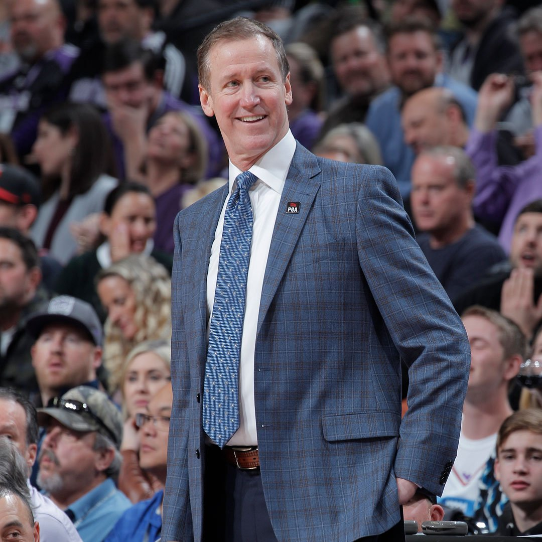 Congratulations to @trailblazers Head Coach Terry Stotts on being named the 2019 Slats Gill Sportsperson of the Year! Coach Stotts is the first Trail Blazers Coach to win the award since Rick Adelman in 1992.  Click here to read more: http://ow.ly/ZzbQ50vfwqX
