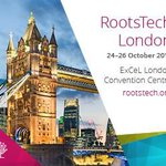Image for the Tweet beginning: RootsTech London - October 24-26,