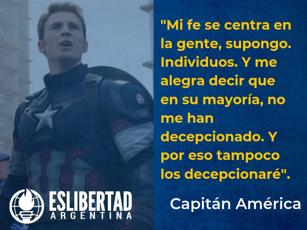 Eslibertad Argentina On Twitter Capitanamerica