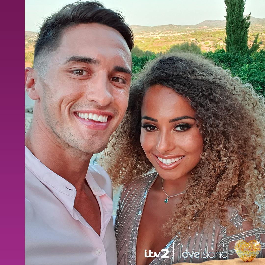 Meet your top two couples! Not long now until your #LoveIsland 2019 winners are crowned… 👑