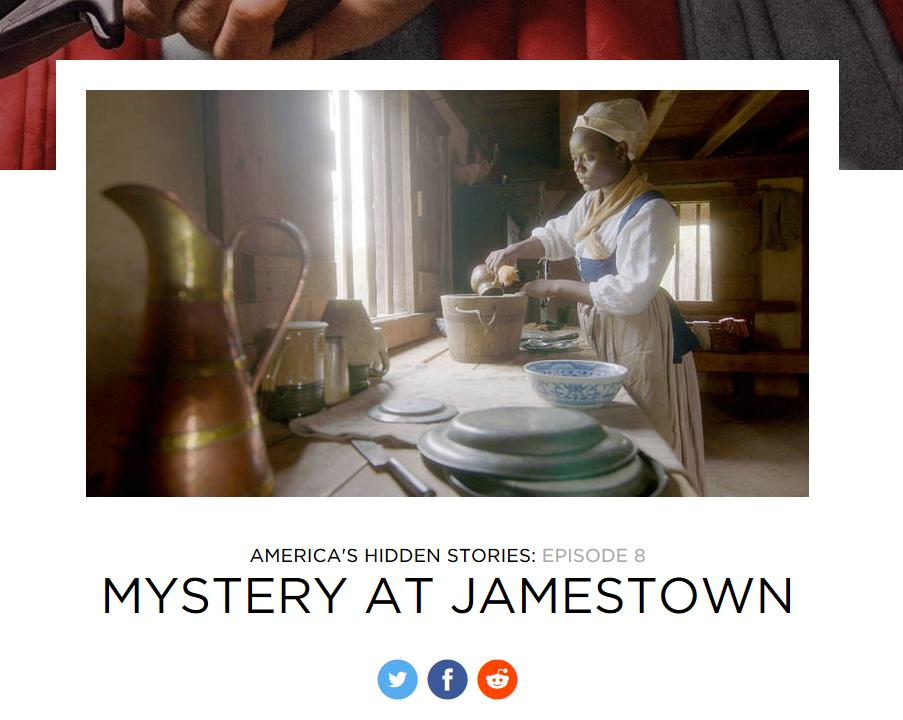 Americas Hidden Stories: Mystery at Jamestown is premiering tonight at 8pm on @SmithsonianChannel! Some of the documentary was filmed right here at Henricus, can you spot where? #henricus #livinghistory #virginiahistory #1619 #jamestown