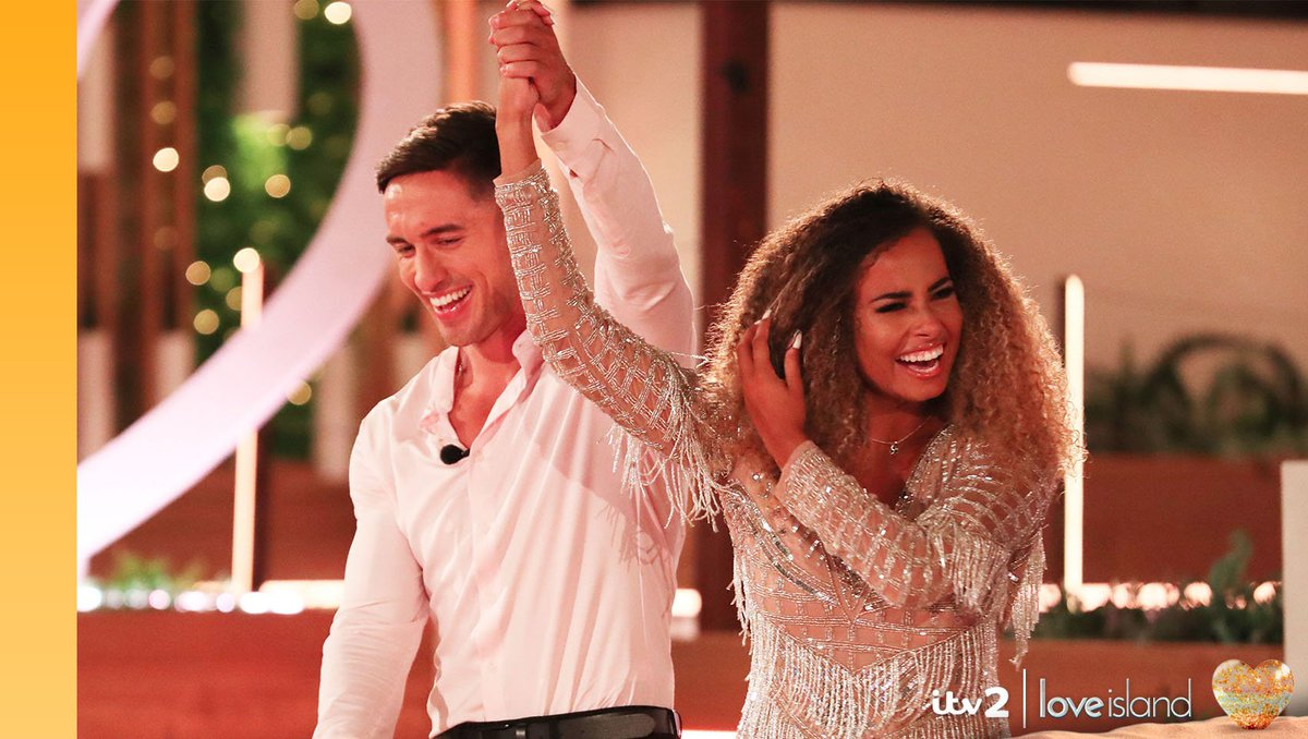 #LoveIsland 2019? Completed it mate. We cannot believe another summer of love is over. Huge congrats to Amber and Greg, who are waking up as your winners! 🎉