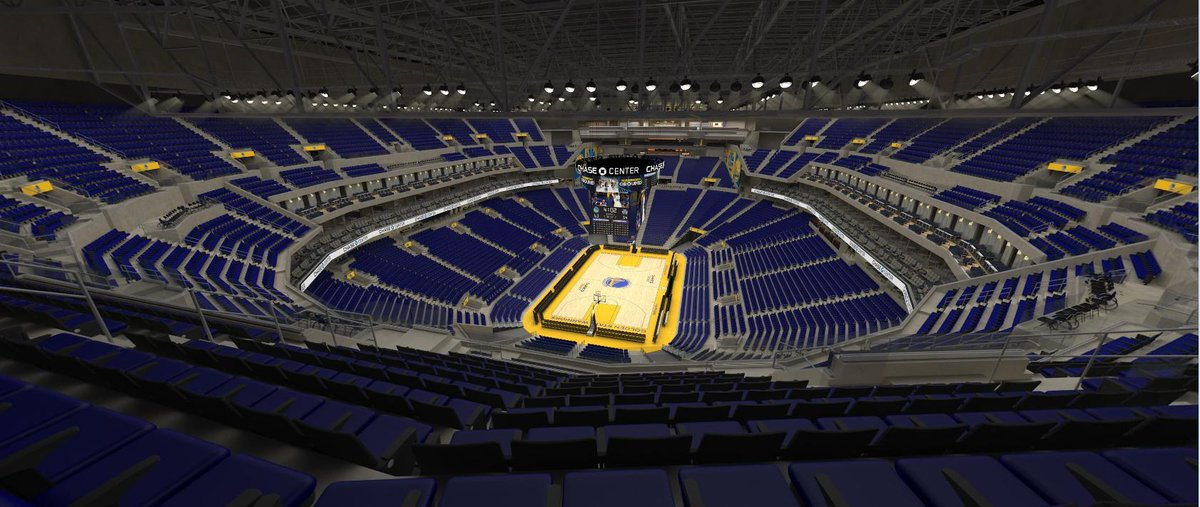 My job has access to the Warriors' first game (preseason vs. Lakers in October) at the Chase Center. You can get these seats (Section 212, Row 21 which is the final row in the upper deck), for the price tag of $352 after taxes and fees. #DubNation #Warriors https://t.co/rRcZvWFHpT