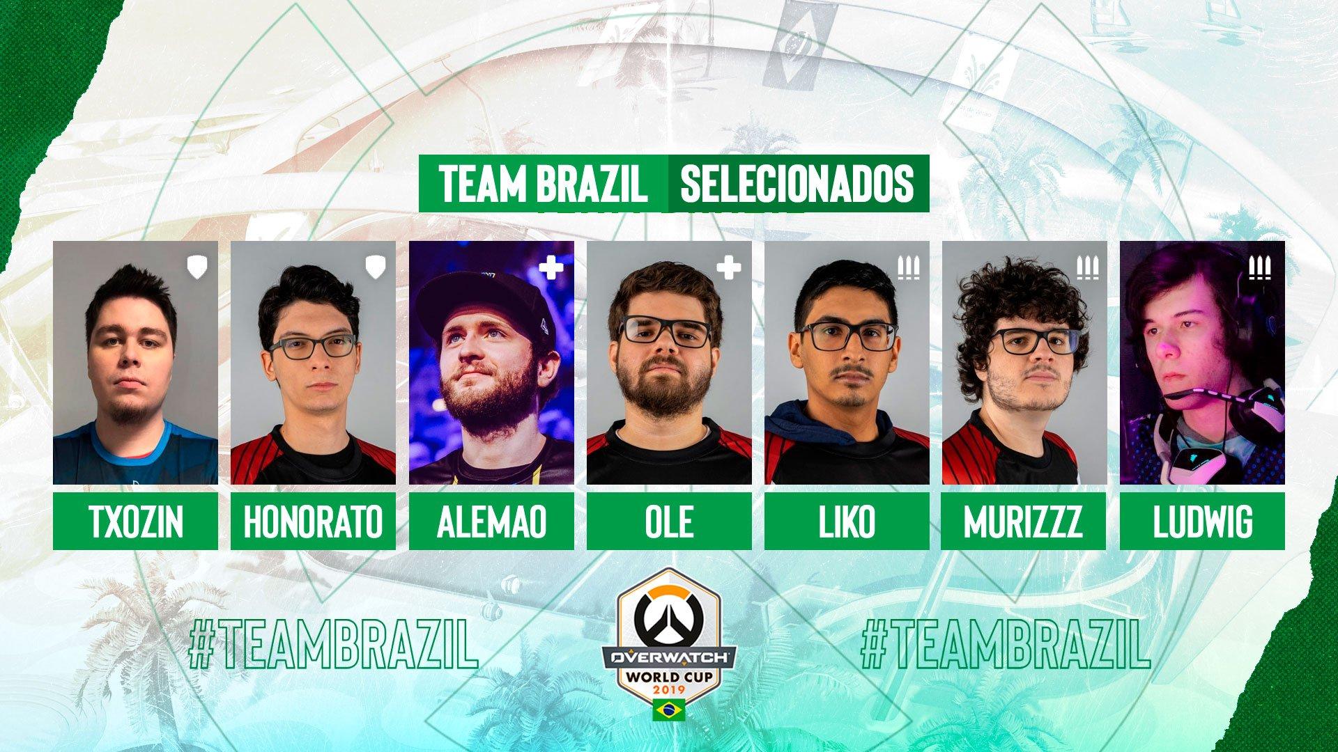 Seleção de OW brasileira 2019