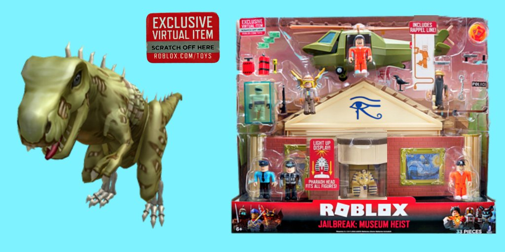 New Roblox Toys Codes Lily On Twitter This Dino T Rex Bundle Is The Toy Code For The New Jailbreak Museum Toy It Was Confirmed By A Few Owners I See It In Targets Now It Has