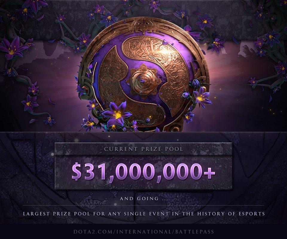 喜提3100万美金:Ti9赛事奖金再创新高