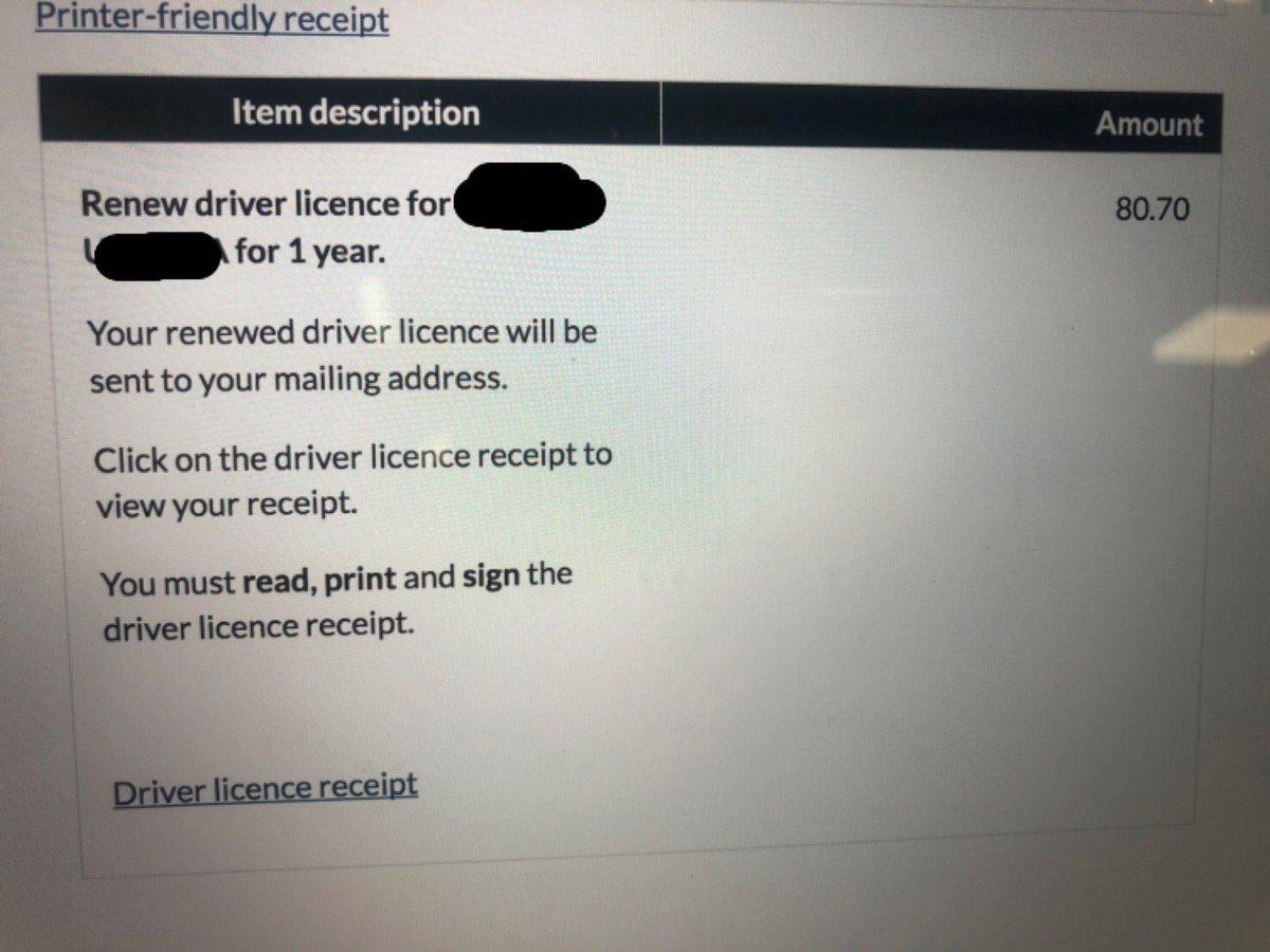 QLD州の運転免許証の更新が簡単すぎてびっくりした。・ネットで3分・支払いはクレジットカード日本で免許更新したときは・申請書提出の行列・視力検査の行列・写真撮影の行列・初心者講習・受取待機・現金のみの支払いを経て半日くらいかかったので、ネットでサっとできるの有り難い。