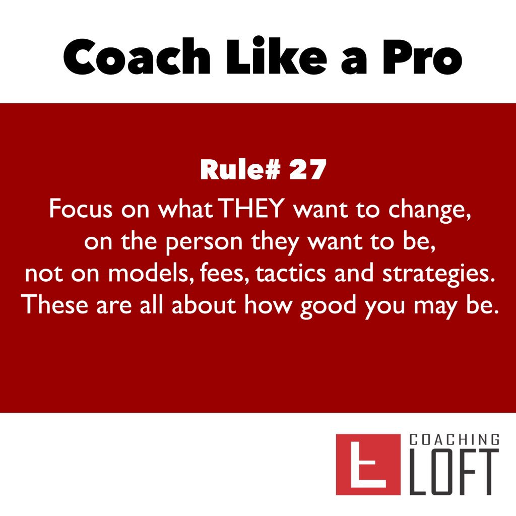 Help your potential coaching clients understand the value of coaching by focusing on what they want to change. https://t.co/iszK1okBvG https://t.co/8qZQWIlxKB