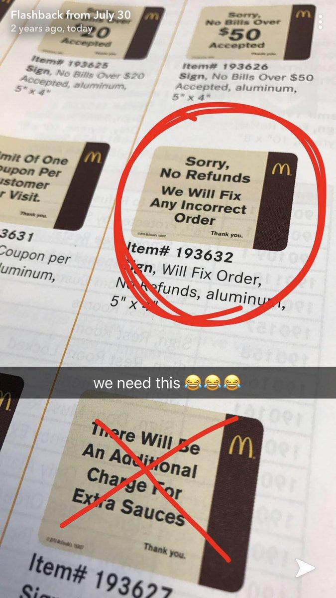 Underpaid Mcdonalds Employee (@mcdonaIdsworker) | Twitter