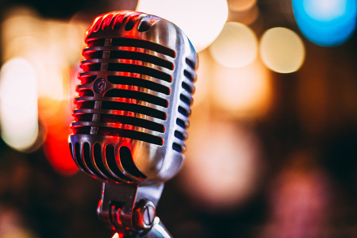 Фото с микрофонами