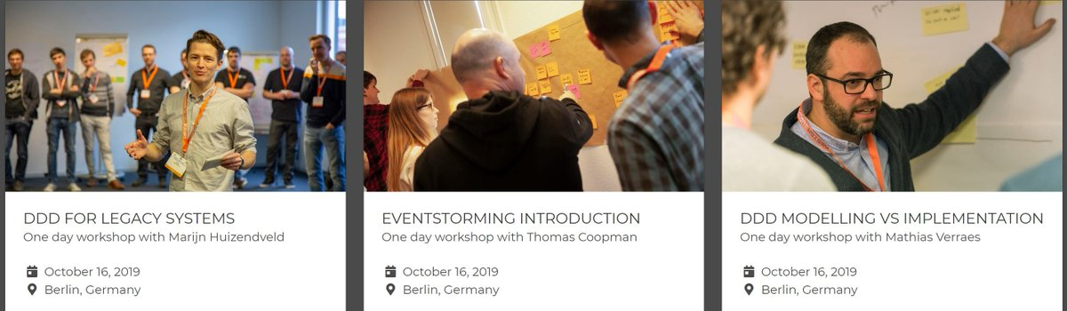 Hello fellow business software artists. Only two days left to get an early bird ticket for our three #DDDesign workshops on October 16th in Berlin. Join now: https://www.kandddinsky.com/   Workshops in collaboration with DDDEurope.