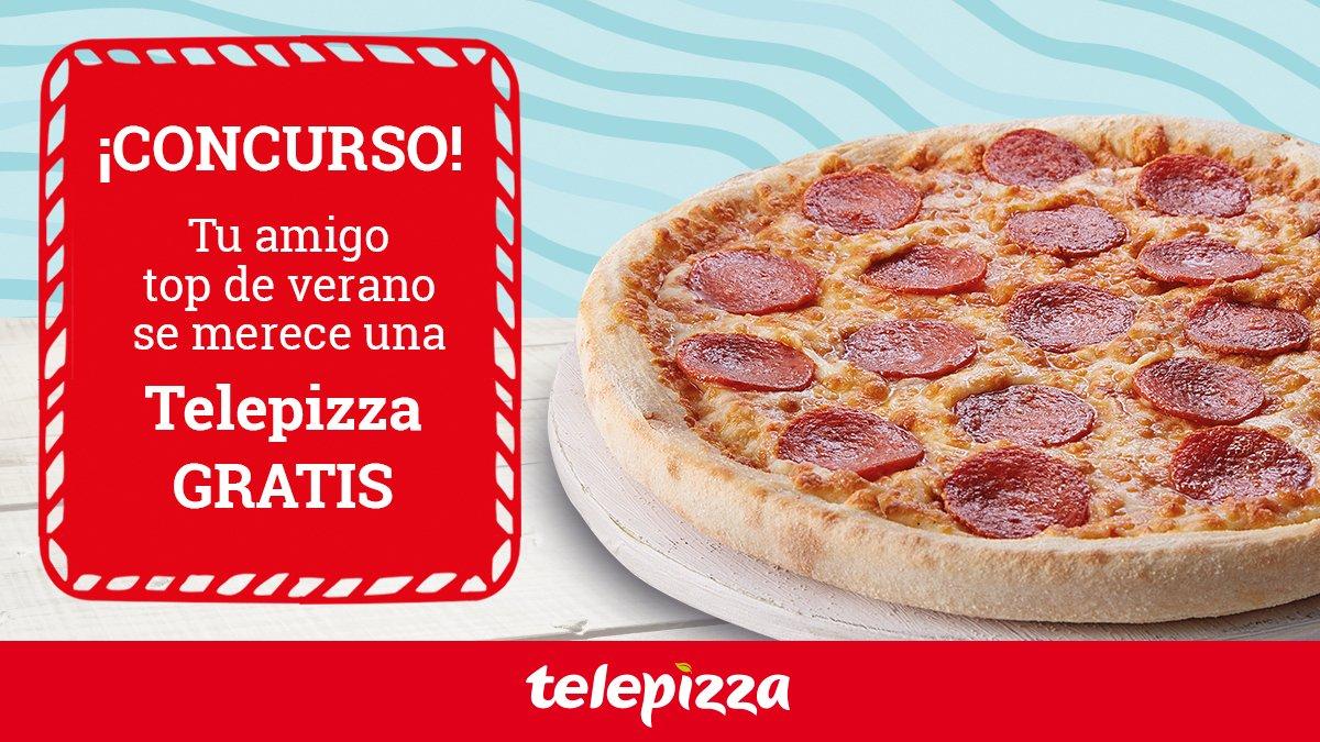 ¡Quien tiene un amigo 👫 tiene #PIZZASGRATIS!   1️⃣Haz RT a este tweet 2️⃣Menciona a tu mejor amigo seguido de #AmigoTop y celebra el #DíaInternacionalDeLaAmistad con una Telepizza #Gratis para cada uno  Mañana comunicaremos los ganadores ¡SUERTE 🍀!