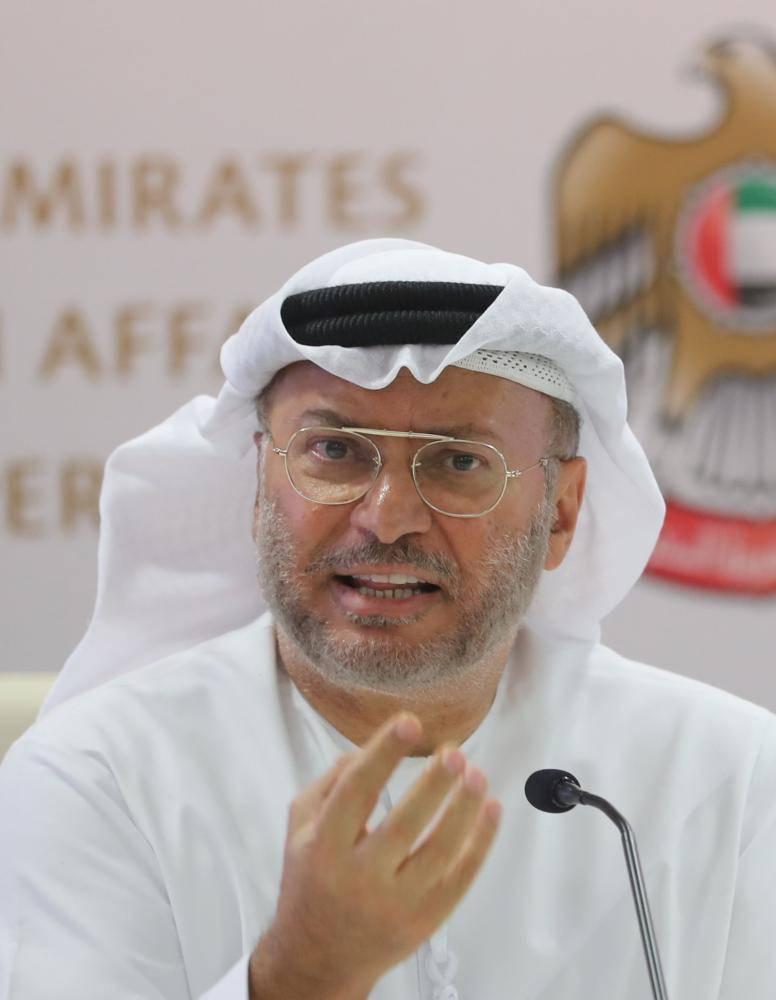 #قرقاش: لا يمكن لـ #الدوحة نفي تسجيل #نيويورك_تايمز ببيان مستعجل لم يصاحبه #تحقيق، وتصعيد #قطر مع جيرانها أمر مؤسف ويؤكد صواب #الدول_الأربع.#عكاظ http://okaz.com.sa