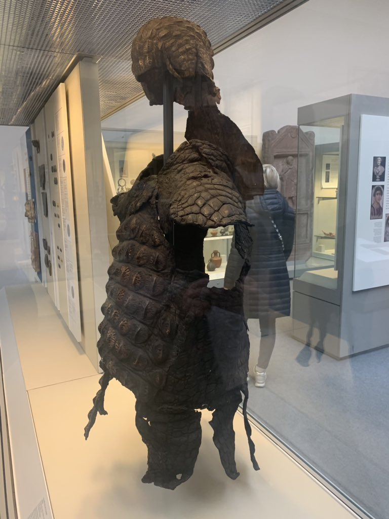 "revolting satrap on Twitter: ""Roman crocodile-skin suit of parade ..."