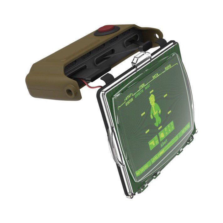 You can now Pre order the @thewandcompany Pip boy 2000 Light up