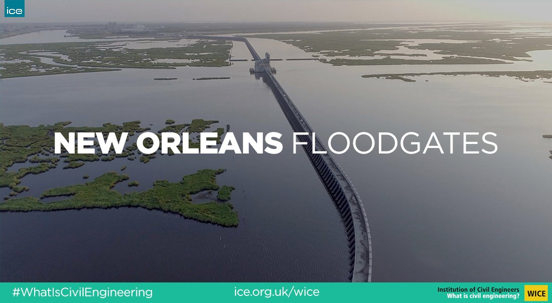 Just a few weeks ago #NewOrleans braced itself against #TropicalStormBarry. It was the first time in history that all 9 floodgates were closed to prepare the state against 'unprecedented amounts of water.'  Find out how #CivilEngineers created the gates.  http:// bit.ly/2SUHuKG     <br>http://pic.twitter.com/VDwENwd3Ns
