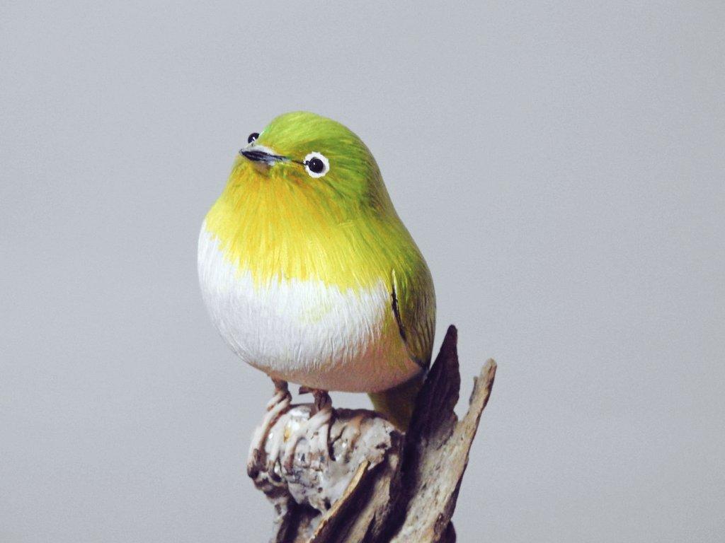 父が木工細工で作った鳥がすごすぎる!