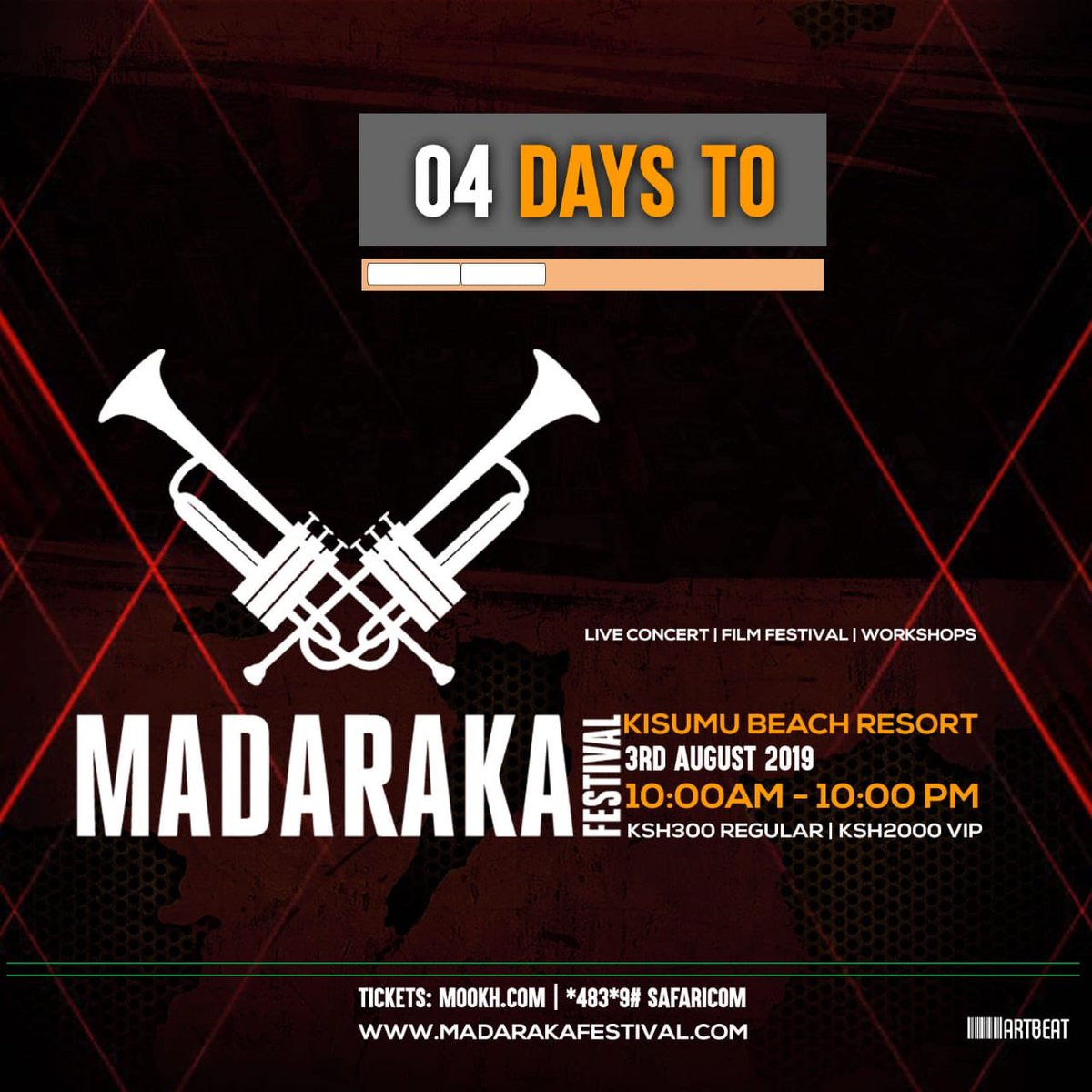 Bring a sister, a brother, a cousin #MadarakaFest2019 is all about bonding with friends and family!